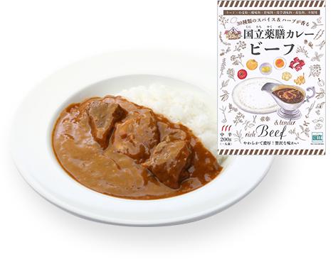 国立薬膳カレー・ビーフ